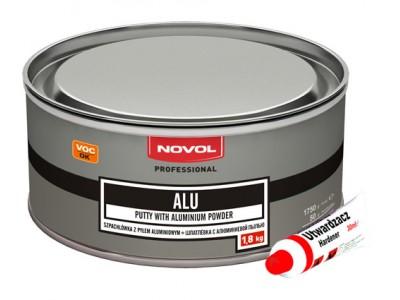 NOVOL шпатлёвка ALU с алюминиевой пылью 1,8кг