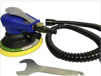 Шлифовальная машина пневматическая синяя 150мм