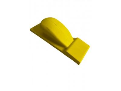 Шлифовальный блок жёлтый 70*190мм