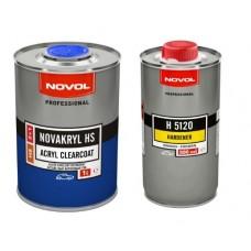 Бесцветный акриловый лак Novakryl HS 2+1