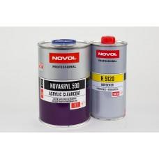 Бесцветный лак Novakryl 590 2+1-1k